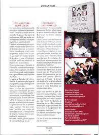 Réusssir 2012 article sur l'atelier DARLOU