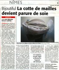 Midi Libre avril 2008
