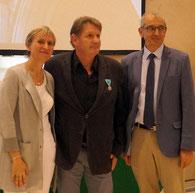 François HORAK, Madame la préfète Fabienne BUCCIO et Alain GOUPY
