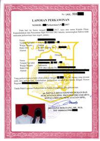 インドネシア,結婚手続き,