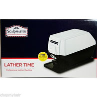 SCALPMASTER LATHER MACHINE W/FREE 8 OZ. LIQUID LATHER $229.99
