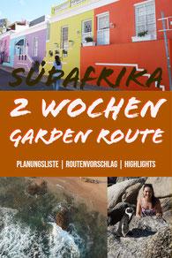 Südafrika Tipps für 2 Wochen Garden Route - Planungsliste, Route, Highlights