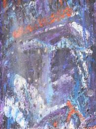 Ikone VII , Mischtechnik auf Holz, 19 x 25 cm, 2006