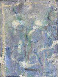 Ikone I , Mischtechnik auf Holz, 19 x 25 cm, 2006