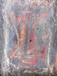 Ikone V , Mischtechnik auf Holz, 19 x 25 cm, 2006