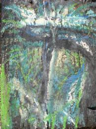 Ikone IV, Mischtechnik auf Holz, 19 x 25 cm, 2006