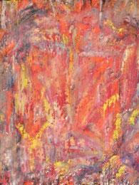 Ikone VI , Mischtechnik auf Holz, 19 x 25 cm, 2006