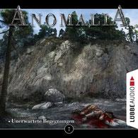 CD-Cover Anomalia Folge 7 - Unerwartete Begegnungen