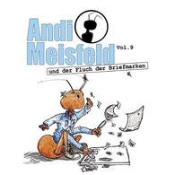 CD Cover Andi Meisfeld und der Fluch der Briefmarken