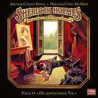 CD Cover Sherlock Holmes Die quietschende Tür
