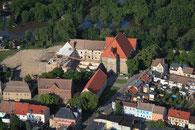 Luftbilder Hochwasser Nienburg