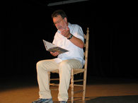 Christian Philipp liest die Geschichte vom Försterball