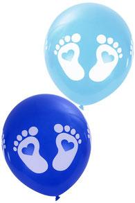 Ballonnen blauw 8 st € 2,25