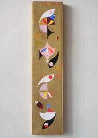 Ellen Roß, Papiercollage, 2012