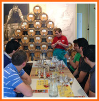berlin food tour whisky tasting @ vom fass