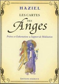 Les cartes des anges Haziel, Pierres de Lumière, tarots, lithothérpie, bien-être, ésotérisme