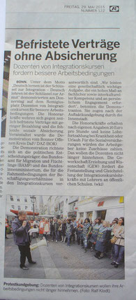 Bonner Rundschau 29.05.2015
