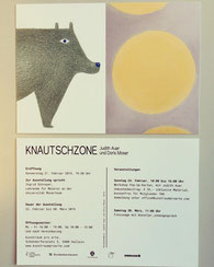 "MY LAST EXHIBITION ""KNAUTSCHZONE"" in february 2019"