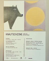 """Ausstellung """"KNAUTSCHZONE"""" im Februar 2019 in Allein"""
