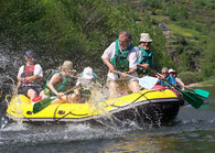 Rafting et canoë à Grandvabre