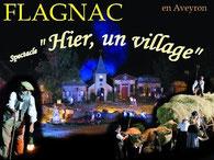 Spectacle son et lumière à Flagnac (juillet et août)