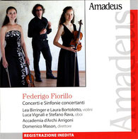 Violinistin Lea Birringer auf dem Cover des italienischen Musikmagazins Amadeus