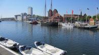 Der Hafen von Neustadt ist auch nur ca. 800 Meter entfernt.