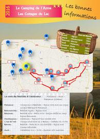 brochure gers partenaire route des bastides