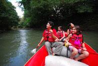 Half Day Raft trip Peñas Blancas River