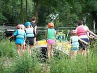 En route pour le rafting ;-)