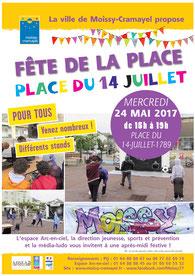 Crédit photo affiche : Ville de Moissy-Cramayel