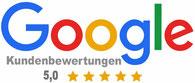 Google Kundenbewertungen 5,0 Icon