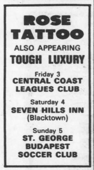 Tour AD -  Friday 03. May '85 - Sydney Morning Herald  - Page 45