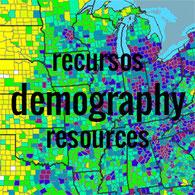 Enlace a recursos de demografía