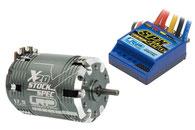 Brushless-Motor und Brushless-Regler für den RC Modellbau
