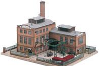 Fabrik-Gebäudemodell im Maßstab 1:87 der Firma Piko