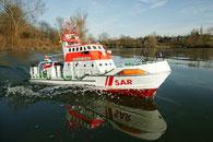 Rettungskreuzer als RC Modell der Firma Graupner