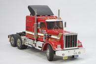 amerikanisches RC Truckmodell im Maßstab 1:10 der Firma Tamiya