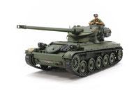 Panzermodell als Plastikbaukasten