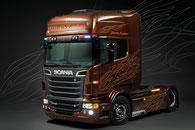 Scania Truck-Modell im Maßstab 1:24 der Firma Italeri