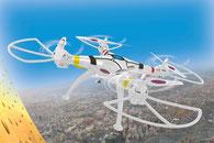 RC Quatrocopter, Drohne