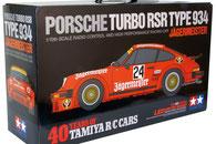 Modellbaukasten eines Porsche RC Modells im Maßstab 1:10, RC Baukasten von TAMIYA, Modellbau Kroh