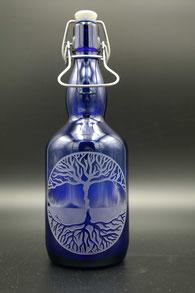 Blauglas - Lebensbaum
