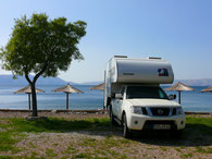 Camping Raca bei Senj (HR)