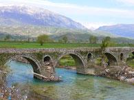 Brücke bei Gjirokaster