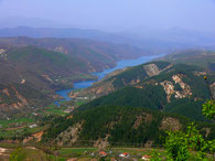Landschaft Bezirk Mirdite