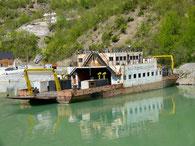 das alte Fährschiff