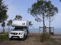 Camp Pa Emer, Kavaja