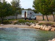 Camp Roko, Drage -Kroatien