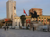 Tirana Skanderbeg-Platz